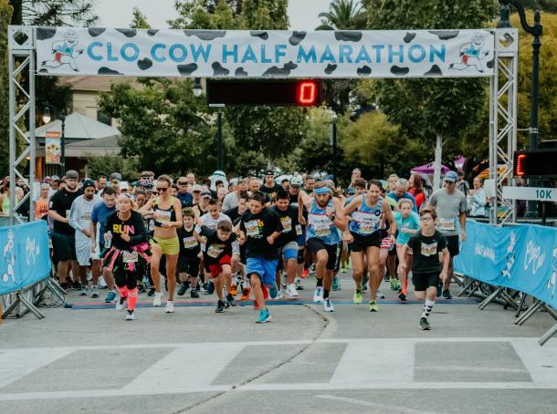 clo cow half marathon