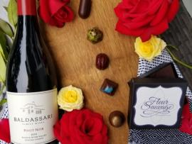 Fleur Sauvage Baldassari Wine Chocolate