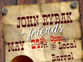 John Rybak and Friends at Local Barrel