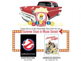 Outdoor Summer Series: AMERICAN GRAFFITI at the Drive-In Photo