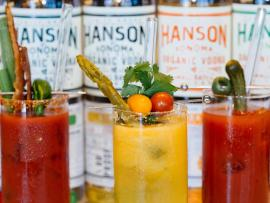 Build Your Own Bloody Mary Bar at Hanson of Sonoma Photo