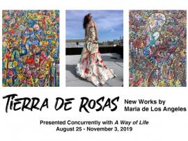 Opening Reception for Tierra de Rosas and A Way of Life Photo