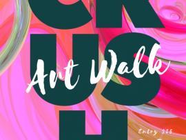 CRUSH Art Walk & Wine at the Flamingo Resort and Spa Photo