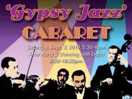 Gypsy Jazz Cabaret Gala & After Party Photo