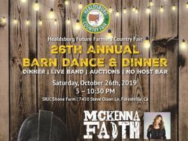 26th Annual Healdsburg Fair Barn Dance & Dinner Photo