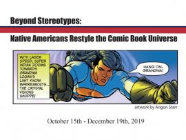 Native American Comic Book Artists Exhibit Photo