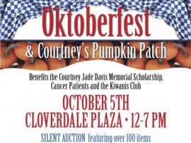 Oktoberfest & Courtney's Pumpkin Patch Photo