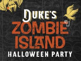 Zombie Island Halloween Party Photo
