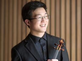 Sonoma County Philharmonic and Violinist Pierce Wang Photo
