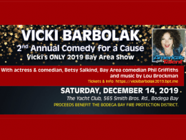 Comedy for a Cause with Vicki Barbolak from America's Got Talent Photo