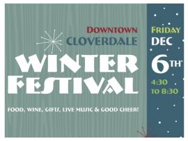 Cloverdale Winter Festival Photo