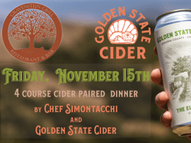 Harvest Dinner with Golden State Cider Photo