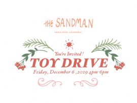 The Sandman Holiday Celebration and Toy Drive Photo