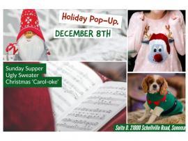Ugly Sweater & Christmas Carol-oke Sunday Supper Photo