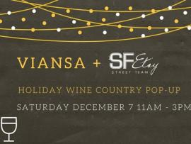 Viansa Wine Country Holiday Pop-Up Photo