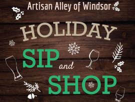 Holiday Sip and Shop Photo