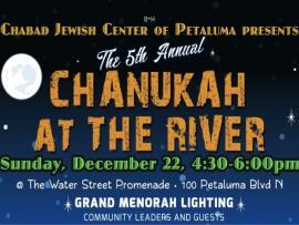 Chanukah at the River Photo