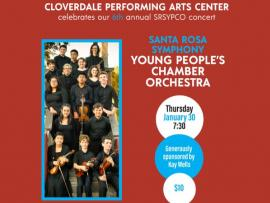 Santa Rosa Symphony Young People's Chamber Orchestra Photo