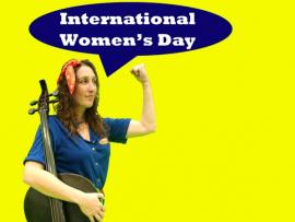 International Women's Day Concert with Dirty Cello Photo
