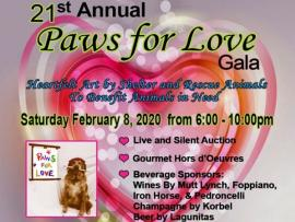 Paws for Love Gala Photo