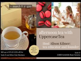Afternoon Tea with UppercaseTea Photo