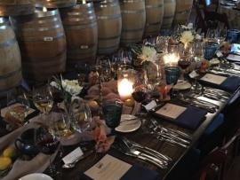 Winter Winemaker Dinner at Trione Winery Photo