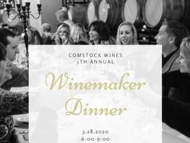 Comstock Wines 5th Annual Winter Winemaker Dinner Photo