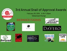 Slow Food in Sonoma County Awards Ceremony Photo