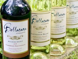 Bellacana Vineyards bottles