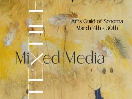 March Art Walk Featuring Sculpture, Textiles and Mixed Media Photo