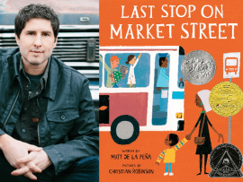 Meet the Author - Matt de la Pena! Photo
