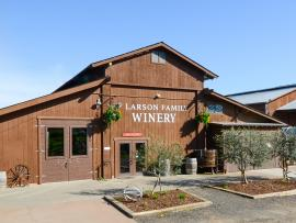 Larson Family Winery, Sonoma, California