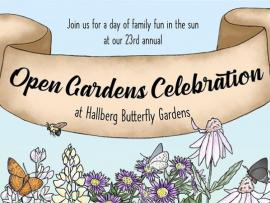 Hallberg Butterfly Gardens Open Gardens Celebration - canceled Photo