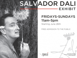 Salvador Dali Exhibit Debut at Cornerstone Sonoma Photo