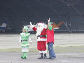 Santa Claus Helicopter Fly-in Photo
