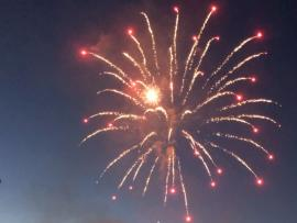 Cloverdale Fourth of July Fireworks Photo
