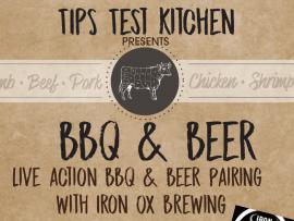 TIPS Test Kitchen BBQ & BEER Photo