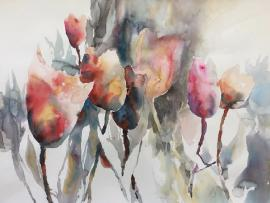 Virtual Event: Creative Process in Watercolor with Jean Warren Photo