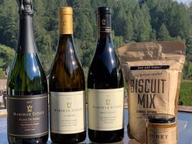 Virtual Event: Holidays, Biscuits and Wine OH MY! Photo