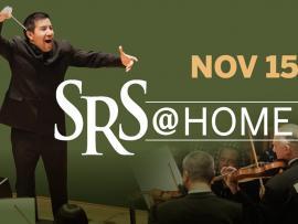 Virtual Event: SRS @ HOME Nov 15 Santa Rosa Symphony Concert Photo