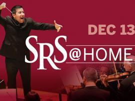 Virtual Event: SRS @ HOME Dec 13 Santa Rosa Symphony Concert Photo