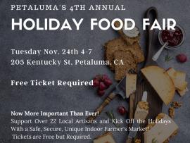 Petaluma's Holiday Food & Fun Fair Photo