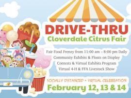 Drive-thru Cloverdale Citrus Fair Photo