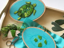 Virtual Event: Intro to Embroidery Photo