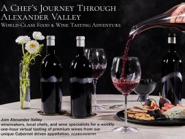 Virtual Event: A Chef's Journey Through Alexander Valley Photo