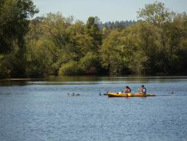 Kayaking with the Dragons of Sonoma County Photo