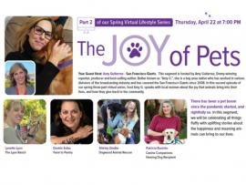 Virtual Event: Women in Conversation at Home; The Joy of Pets Photo