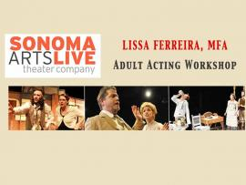 Sonoma Arts Live - Adult Acting Workshop Photo