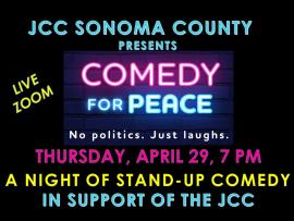 Virtual Event: Comedy For Peace: An Evening of Jewish & Muslim Stand-Up Photo