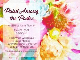 Artxcursion Presents Paint Amongst The Posies Photo